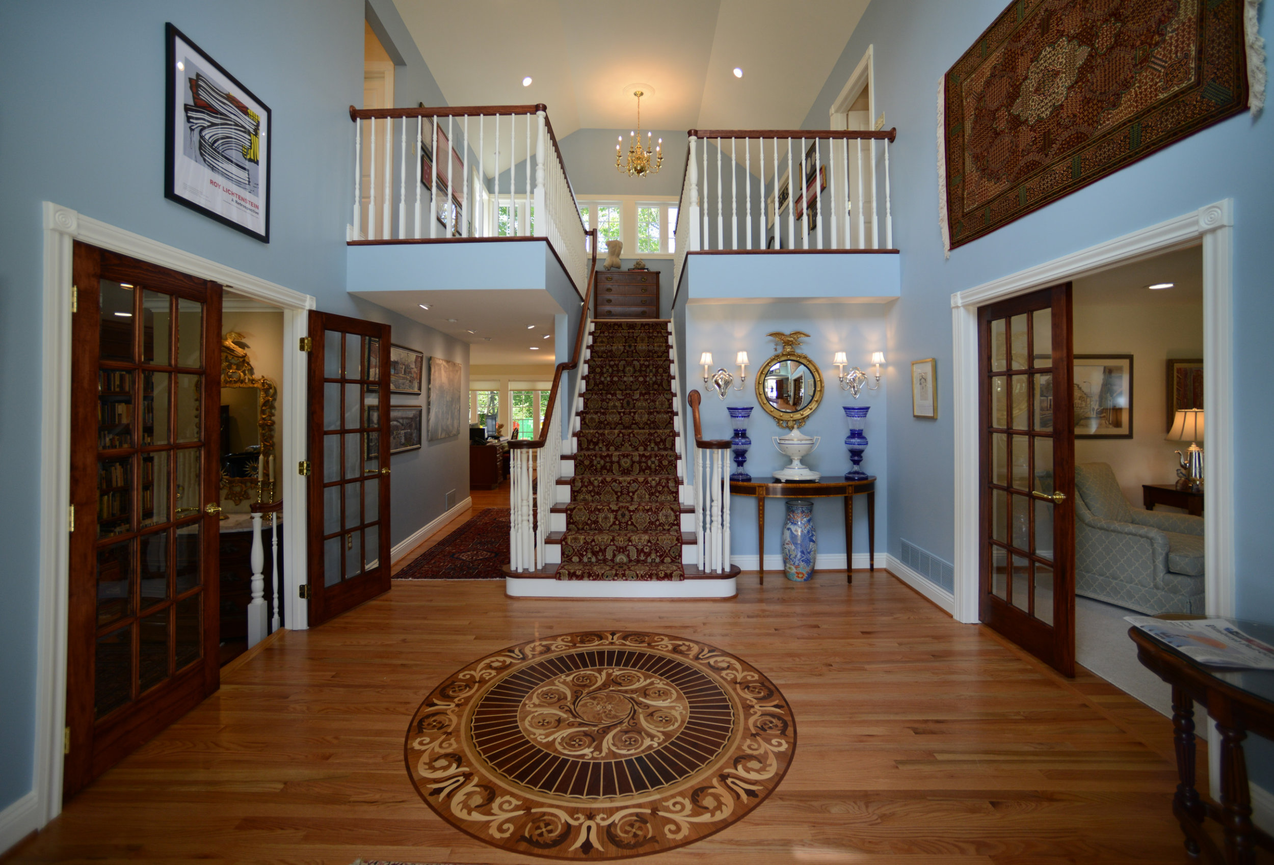 Entryway designed by Lynn M. Smith